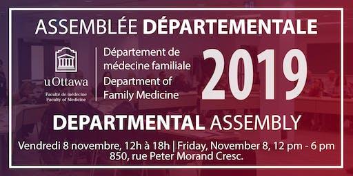Assemblée départementale 2019 Departmental Assembly