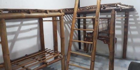 Curso de Móveis Rústicos com Bambu Gigante ingressos