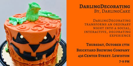 DarlingDecorating: A Social Cake Decorating Event tickets