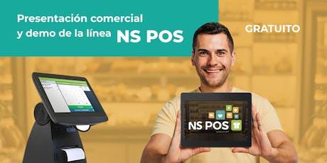Monterrey: Presentación comercial  NS POS ® boletos