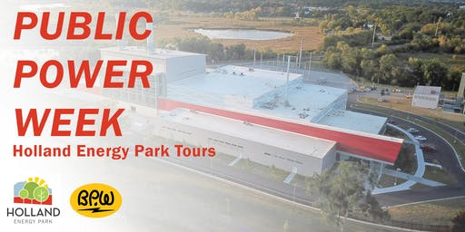 Public Power Week Plant Tour - Afternoon