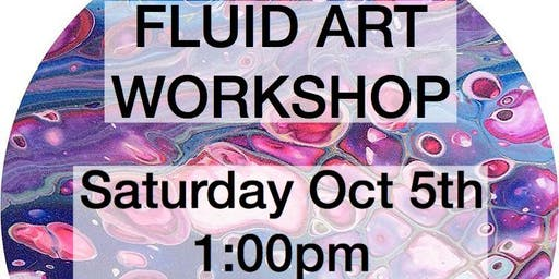 Fluid Art Workshop - create your own painting