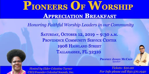 Praise and Worship Leaders Appreciation Breakfast