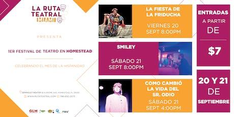 FESTIVAL DE TEATRO HOMESTEAD - Septiembre 20, 8pm tickets