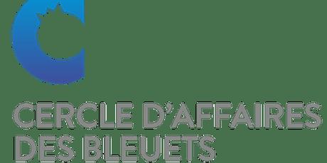 Lancement de la programmation 2019-2020 du Cercle d'affaires des bleuets billets