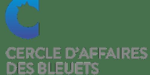 Lancement de la programmation 2019-2020 du Cercle d'affaires des bleuets