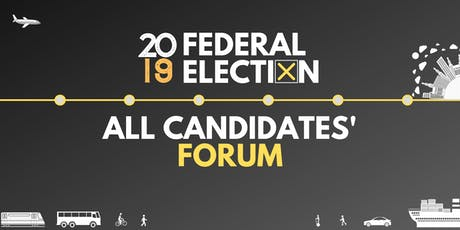 Moving in a Livable Region: 2019 Federal Election All Candidates' Forum tickets