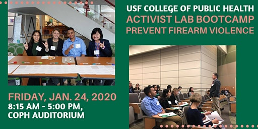 Activist Lab Bootcamp 2020:  Prevent Firearm Violence