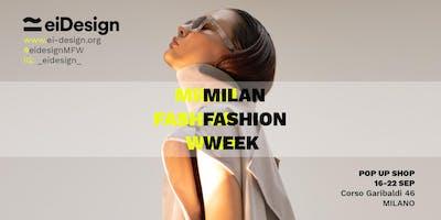 MILAN FASHION WEEK | EIDESIGN | POP UP STORE (Italian-Hispanic designers)
