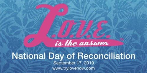 National Day of Reconciliation In Knoxville TN