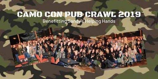 CAMO CON PUB CRAWL SANDY 2019