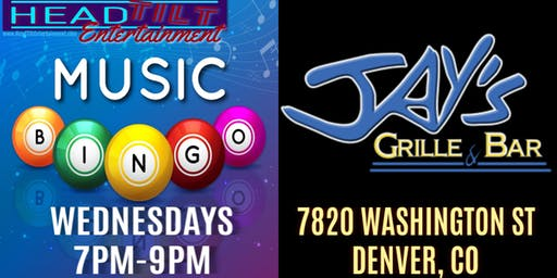 Music Bingo at Jay's Grille & Bar - Denver, CO