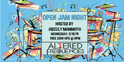 Open Jam Night Hosted By Grizzly Mammoth