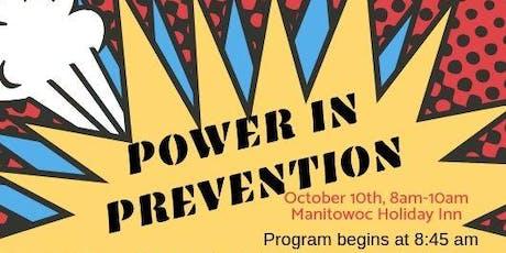 Power In Prevention tickets