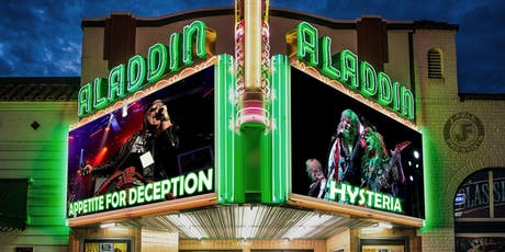 Appetite for Deception (Guns N' Roses Tribute) / Hysteria (Def Leppard) tickets