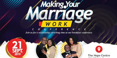 Marriage 4 Life Presents Making Your Marriage Work Breakfast Conference