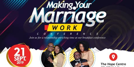 Marriage 4 Life Presents Making Your Marriage Work Breakfast Conference tickets
