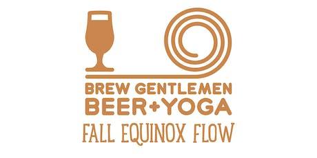 Beer + Yoga: Fall Equinox Flow tickets