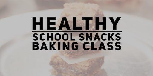 Healthy Peanut Free School Snacks Class
