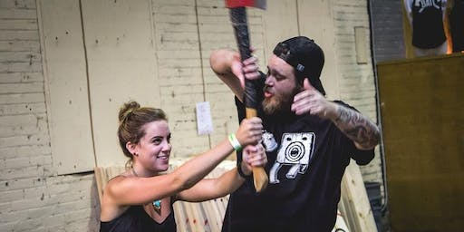 Free Axe Throwing at BATL Chicago