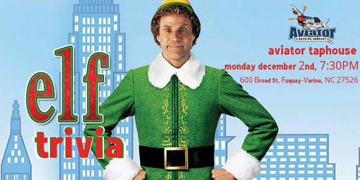Elf Trivia at Aviator Brewing Tap House