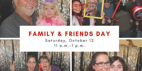 Family and Friends Day tickets