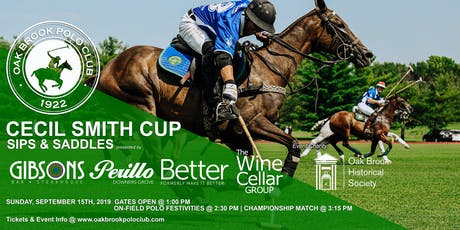 CECIL SMITH CUP - SIPS & SADDLES tickets