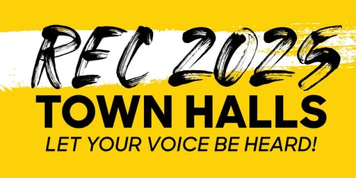 Rec 2025 Town Hall at the Vollmer Center