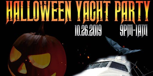 Rhythm Nation's Halloween Yacht Party