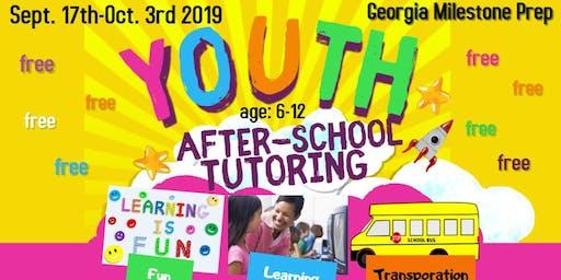 Free tutoring children ages 6-12, Georgia Milestone Prep (math and reading)