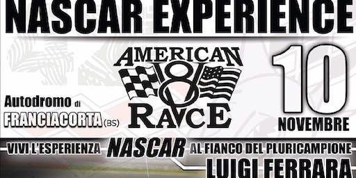 Vivi la NASCAR Experience in pista con il pluricampione Gigi Ferrara