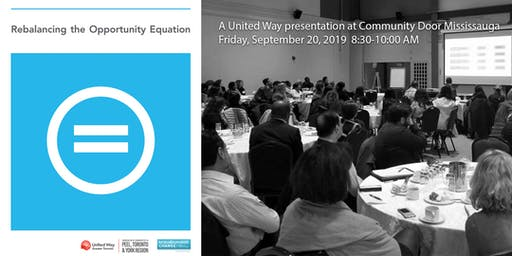 Rebalancing the Opportunity Equation – a presentation for Peel stakeholders