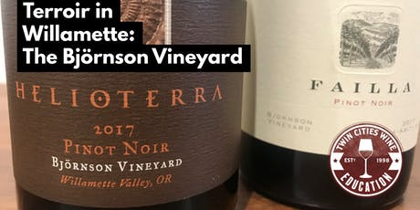 Terroir of Willamette Valley: The Björnson Vineyard tickets