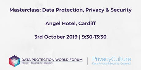 Masterclass: Data Protection, Privacy and Security with Privacy Culture tickets