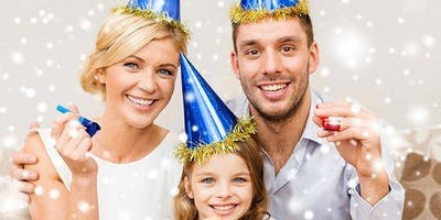 THE FAMILY FRIENDLY NEW YEAR'S EVE EXTRAVAGANZA! NYE BALLOON DROP IS AT 8PM