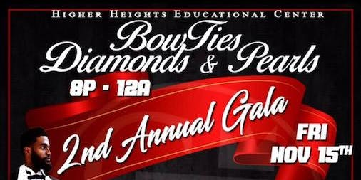 Bow ties, Diamonds & Pearls 2nd Annual Fundraiser