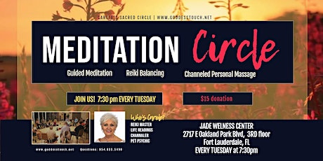 Reiki Meditation Circle with Personal Channeled Massage tickets