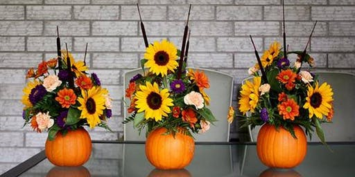 Centrepiece Workshop-Inspiration for your Thanksgiving Table