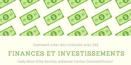 Finances Et Investissements tickets