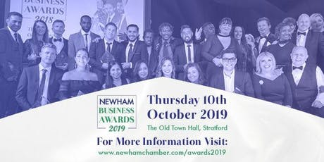 Newham Business Awards 2019 tickets