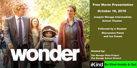Free Community Screening - Wonder tickets