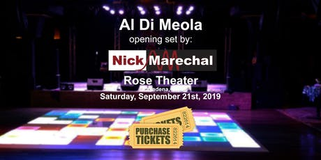 Nick Marechal opening for Al Di Meola tickets