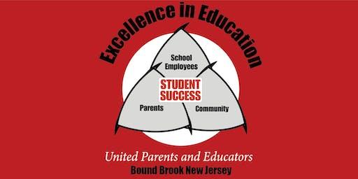 Bound Brook United Parents and Educators Meeting