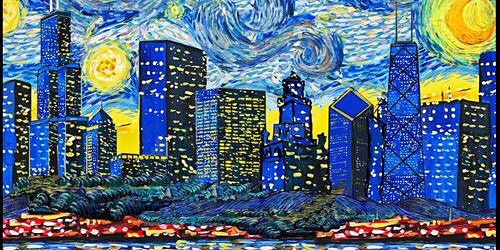 """Van Gogh Visits Chicago"" Painting Session"