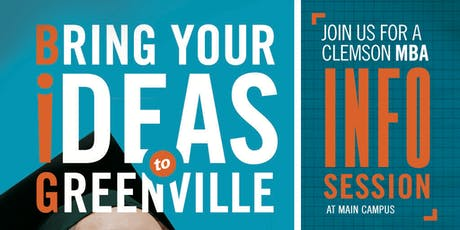 Clemson MBA Morning Info Session, Cooper Library tickets