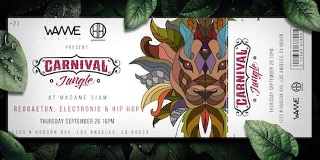Carnival Jungle by WAVVVE tickets