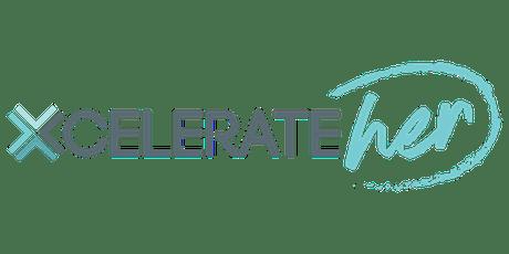 XcelerateHER Launch Social tickets