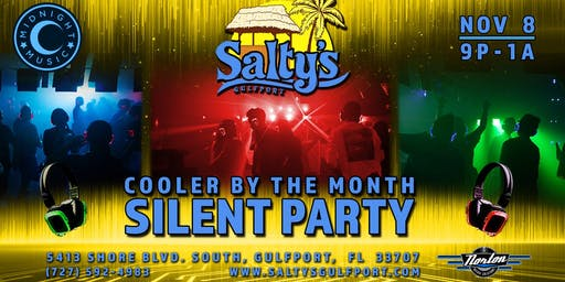 Cooler by the Month Silent Party