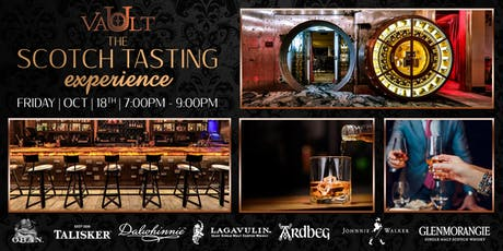 The Scotch Tasting Experience at Vault tickets