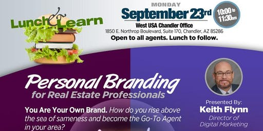 Lunch & Learn - Personal Branding for Real Estate Professionals